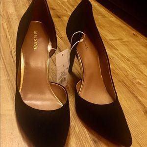 Black Velvet Merona heels